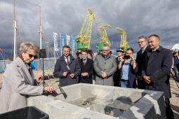Wmurowanie kamienia węgielnego pod budowę Morskiego Centrum Nauki-1